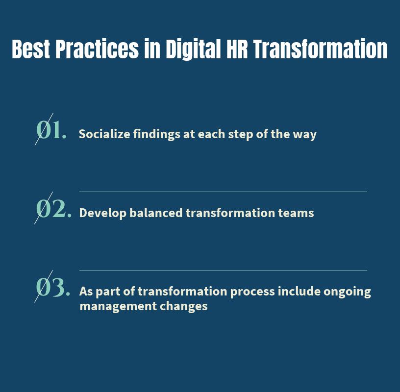 بهترین روش ها در تبدیل دیجیتال HR چیست؟